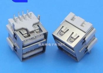 USB母座连接器图片