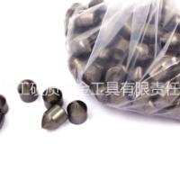 硬质合金钎片球齿旋挖齿