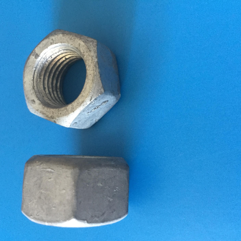 螺母8级10级 螺母六角螺母热镀锌8级 8-24 供应热镀锌六角螺母 螺母六角螺母热镀锌10级