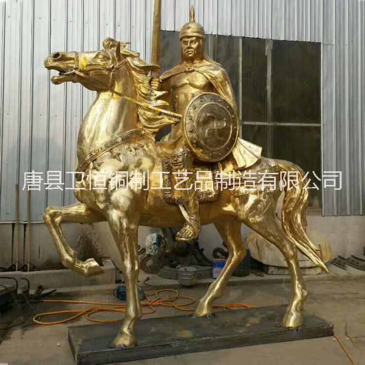 专业铸造大型铜马雕塑群马雕塑马踏飞燕定制厂家