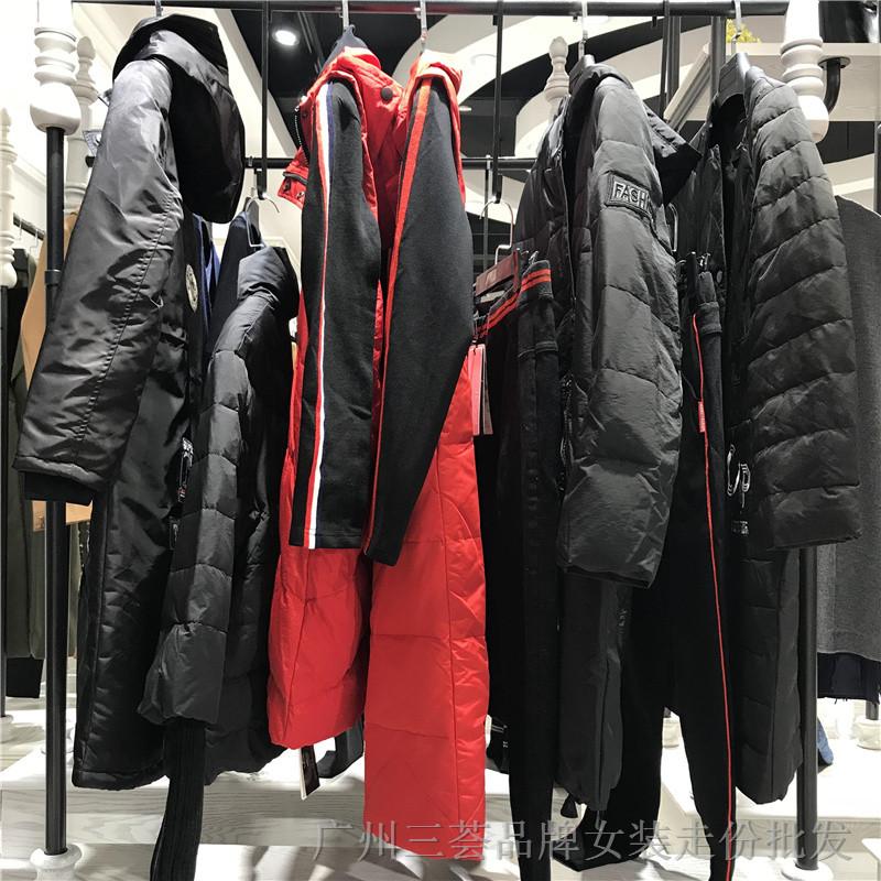 杭州品牌雨希Come Prink 18冬女装折扣走份批发厂家货源供应