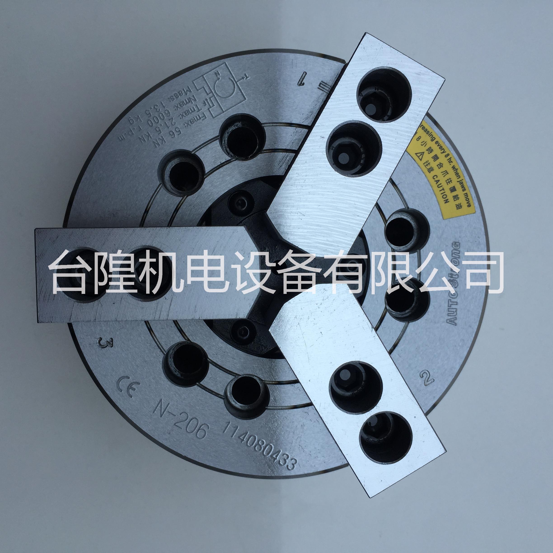 亿川液压卡盘N-206亿川中空油压夹头N-208原厂代理货源 N-206/N-208/210