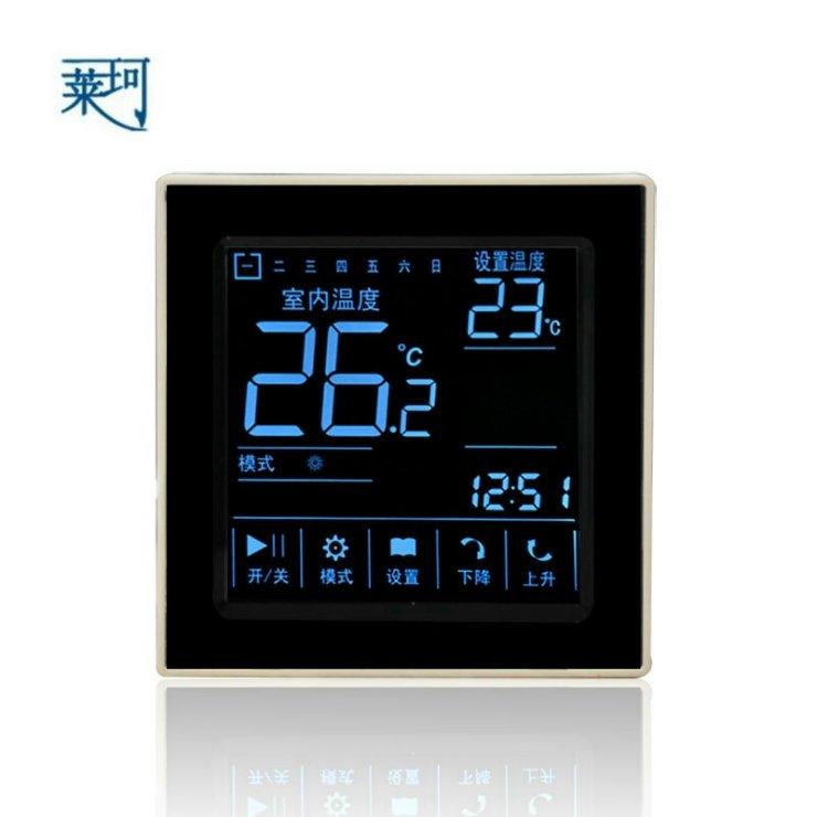D303电采暖触摸屏液晶温控器