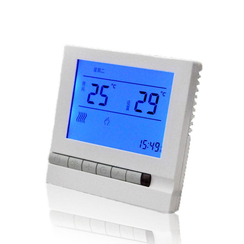 D805 电采暖液晶温控器 D805电采暖液晶开关温控器
