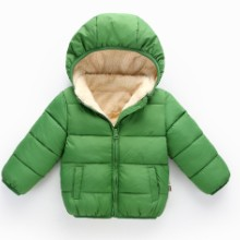 新款儿童秋冬季羽绒服男女童装棉服保暖外套批发货源图片