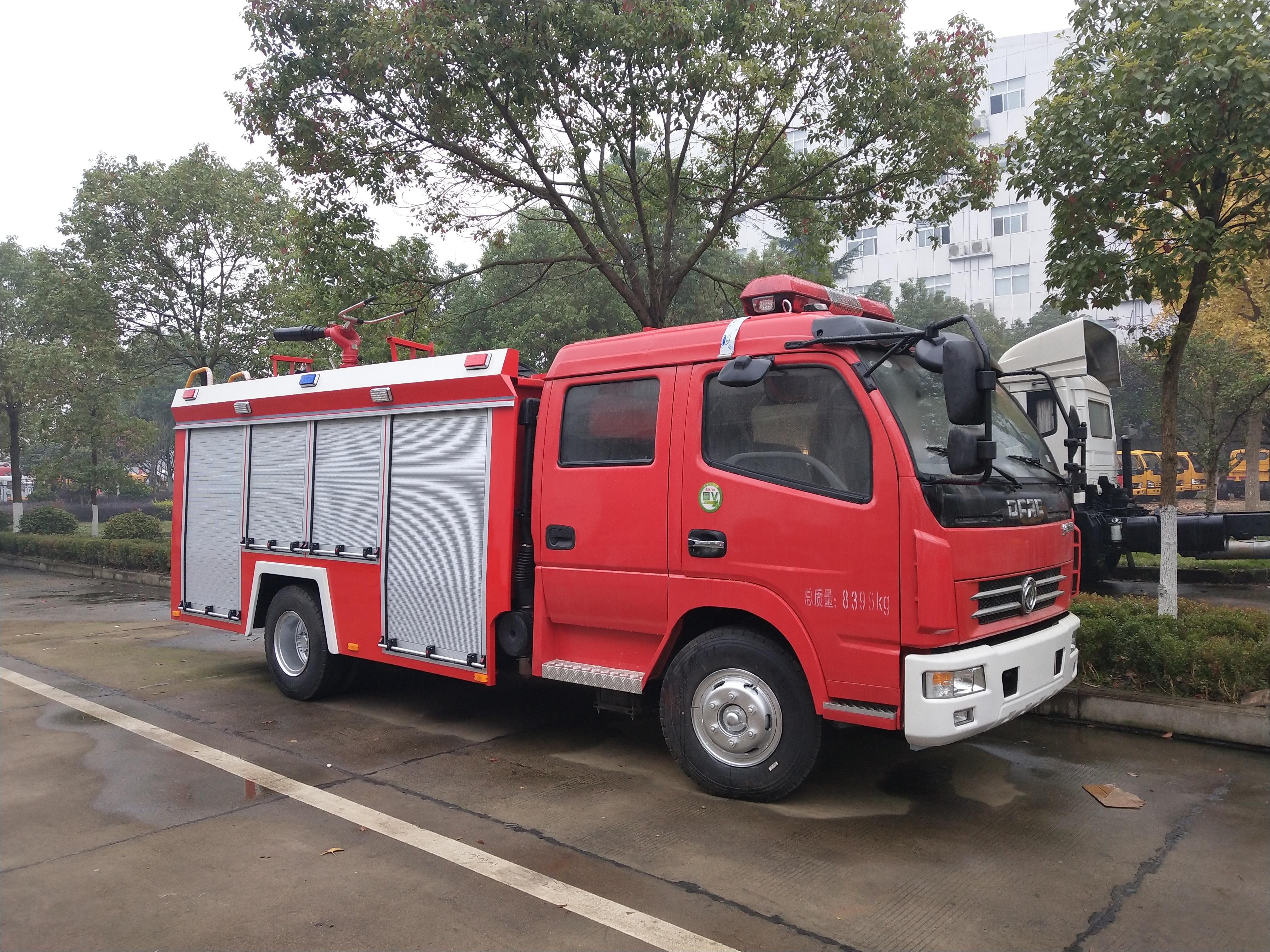 东风多利卡泡沫消防车3.5吨销售