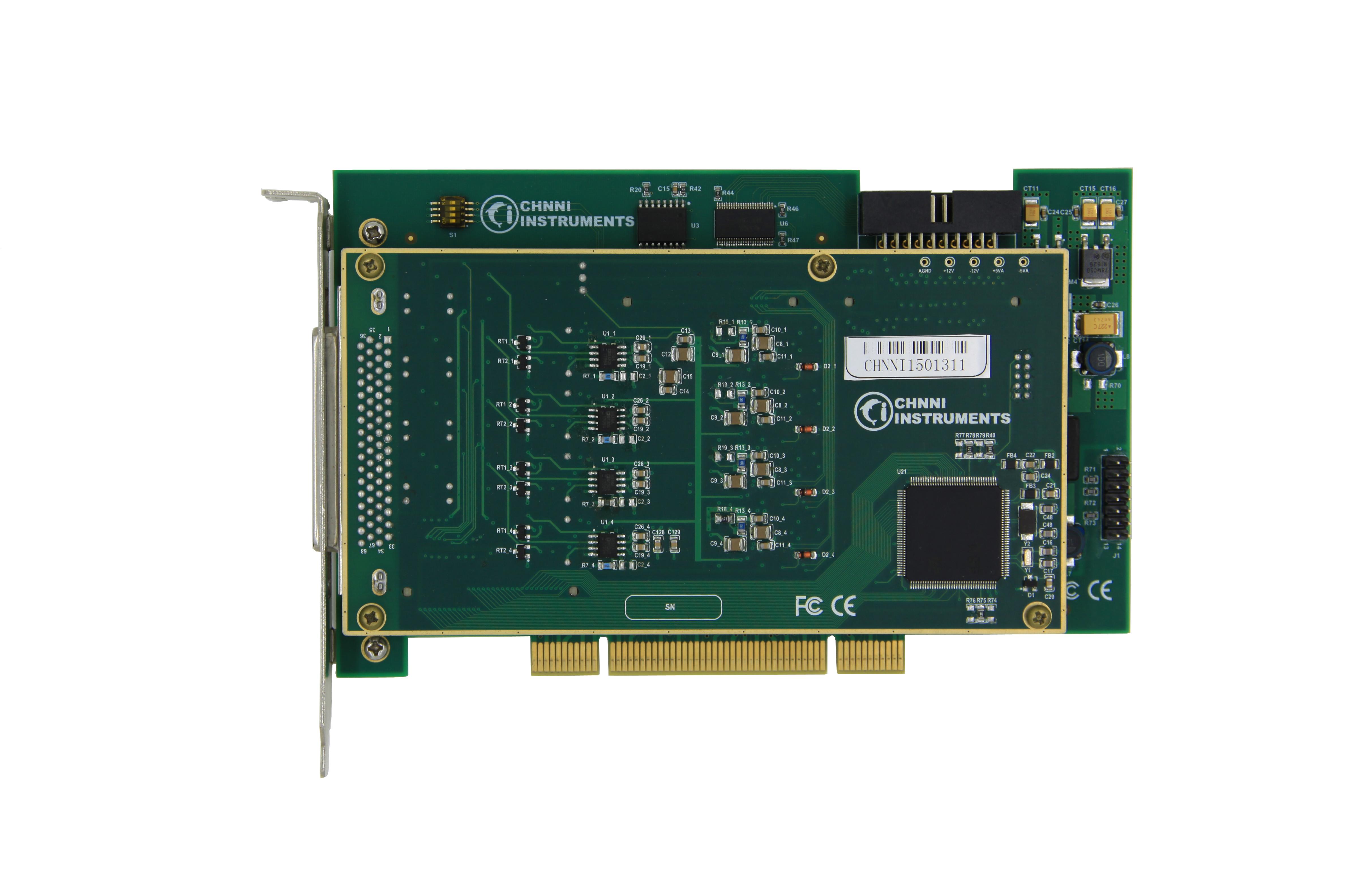 32通道光隔离DI输入 8通道PWM采集 数据采集卡PCI-6412