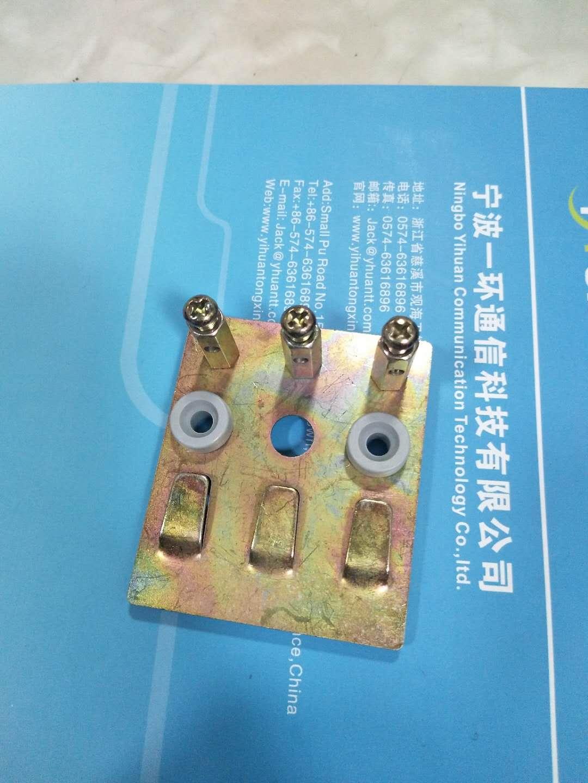 光缆固定配件三联光缆固定座 可按要求订做光缆绕线柱 光缆接线柱