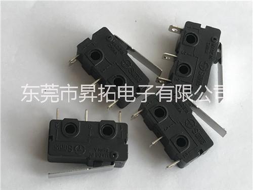 SUNTO微动开关 10A大电流 直柄摆杆 鼠标开关 开关原理图 微动开关ST-10L02