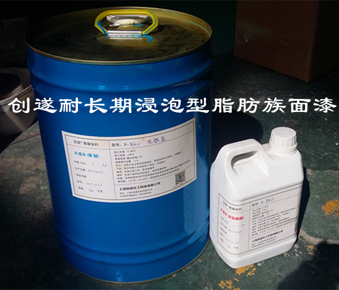 供应 上海创遂泳池耐候装饰用脂肪族涂料