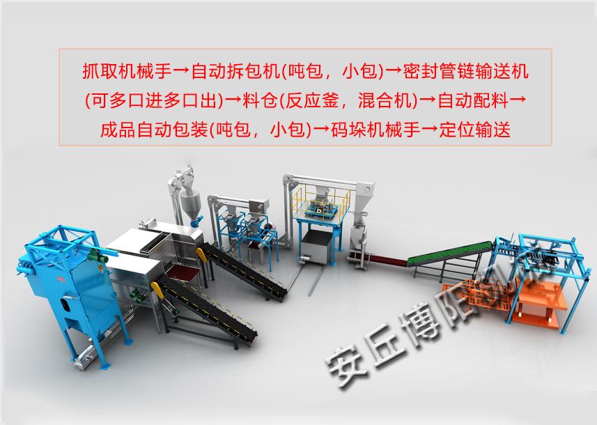 厂家直供肥料机械手码垛机|袋装化肥码垛机,质量放心