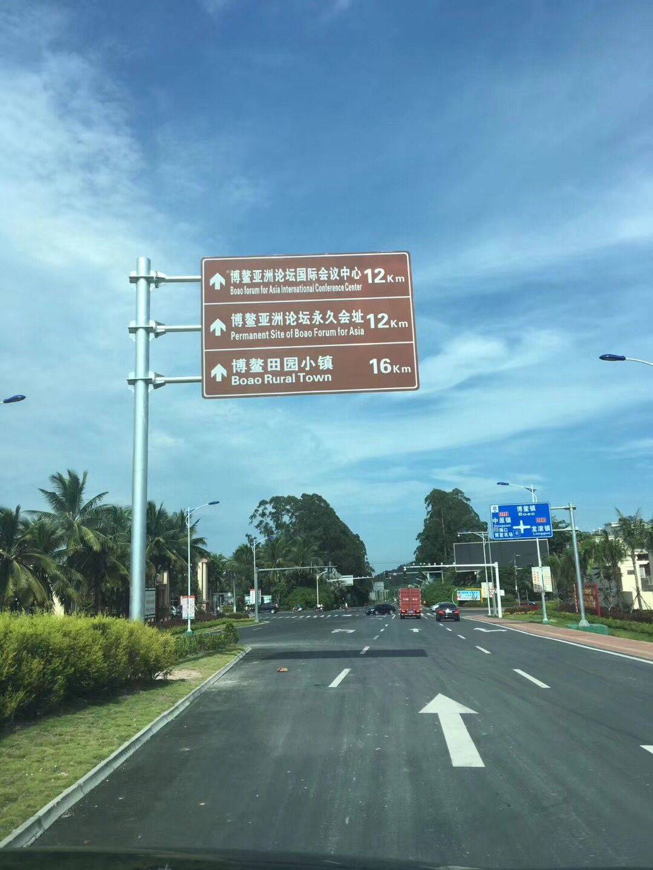 交通标志杆南宁交通标志牌杆厂家报价厂家定做 交通标志杆