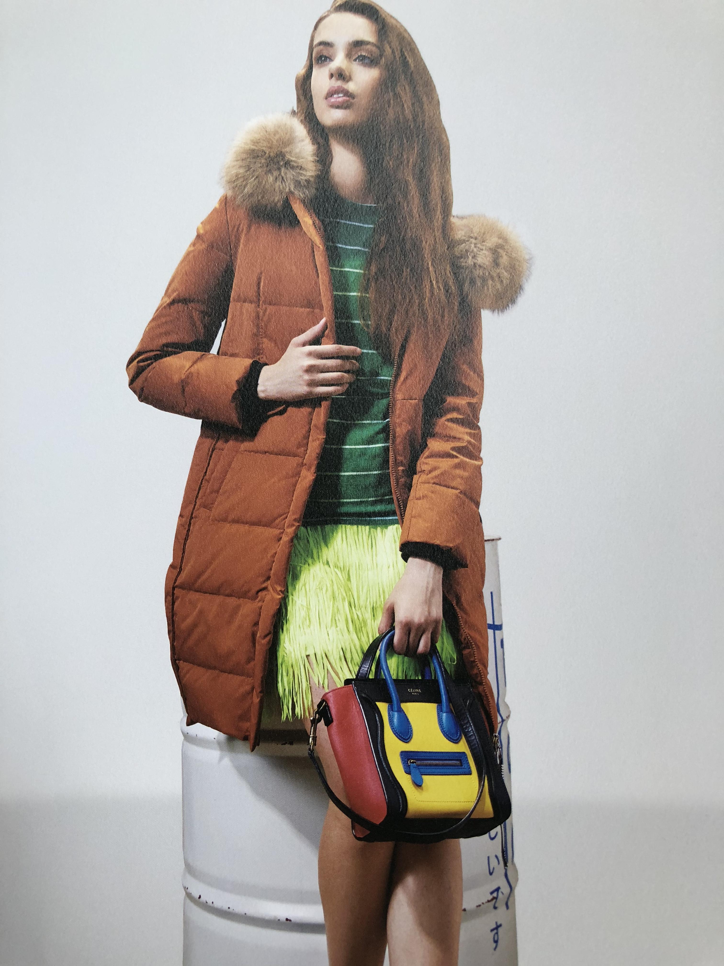 杭州一线品牌埃文羽绒服品牌女装宽松时尚折扣走份批发货源