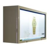 透明屏展示橱窗透明液晶显示屏展柜
