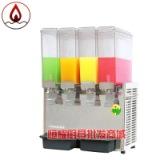 东贝LRP8*4商用冷热饮机 四缸冷热饮果汁机 饮料店自动冷热饮料机
