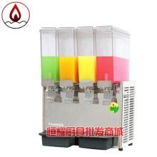 东贝LRP8*4商用冷热饮机 四缸冷热饮果汁机 饮料店自动冷热饮料机图片