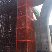 供应路桥施工通用箱式安全梯笼  安装简单快捷  综合效益好