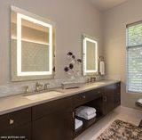 led浴室镜 浴室卫浴镜 led发光浴室镜 防雾浴室镜