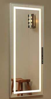铝合金试衣镜子全身镜 现代简约落地镜贴墙壁挂大镜子穿衣镜