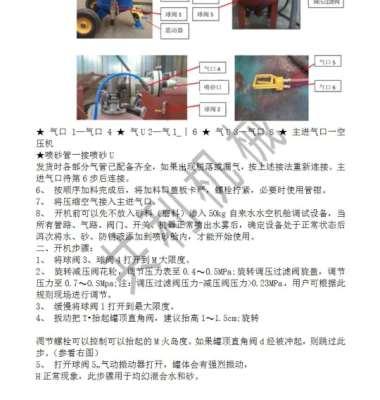 水喷砂机图片/水喷砂机样板图 (4)