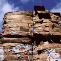 回收废纸物资