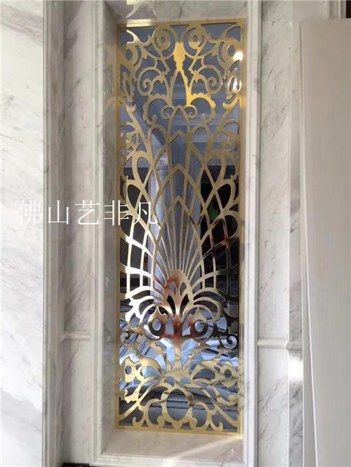 长安镇艺术红古铜铝板镂空屏风,镂空屏风生产厂家