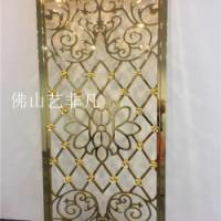 枣庄铝艺精雕细镂花格大全 金属雕刻屏风隔断幕墙制品加工