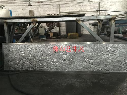 丽江厂家直销艺术镂空铝板 雕花 精雕铝门 红古铜浮雕壁画