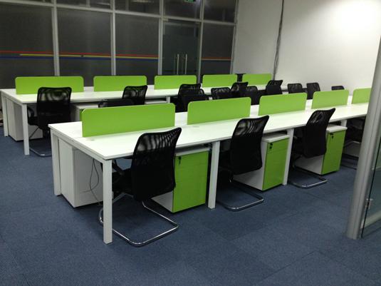 重庆办公家具 组合式职员桌 简约时尚办公桌 员工电脑桌 钢架办公卡位 厂家直销 钢架办公桌 办公电脑桌