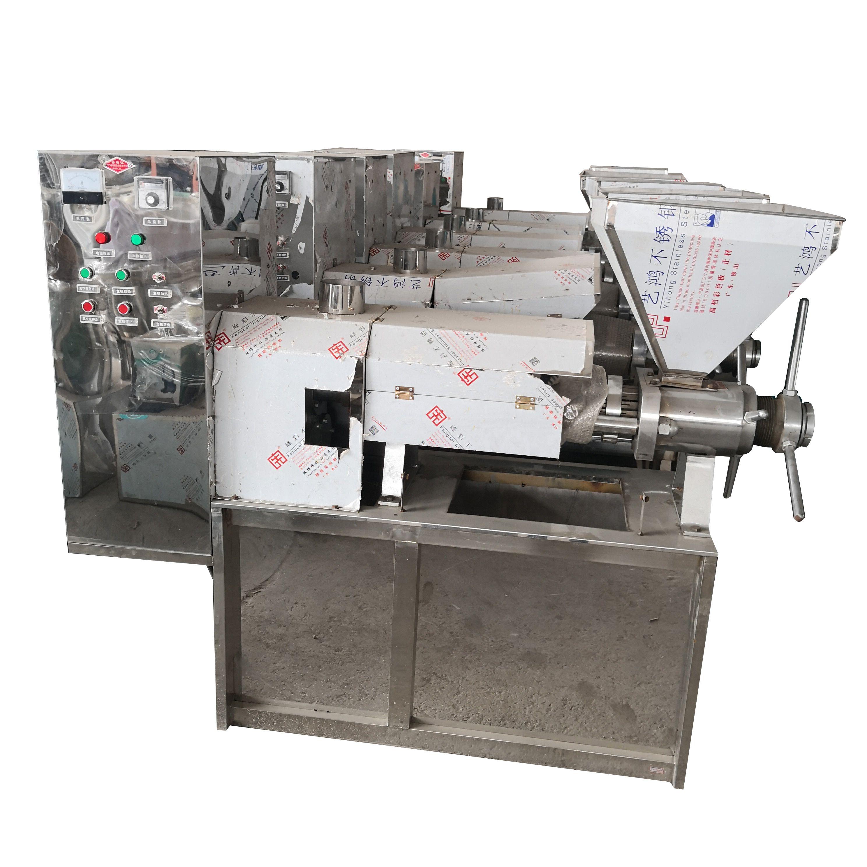125型冷榨机 125型冷榨机定制 125型冷榨机多少钱 螺旋榨油机多少钱 供应螺旋榨油机