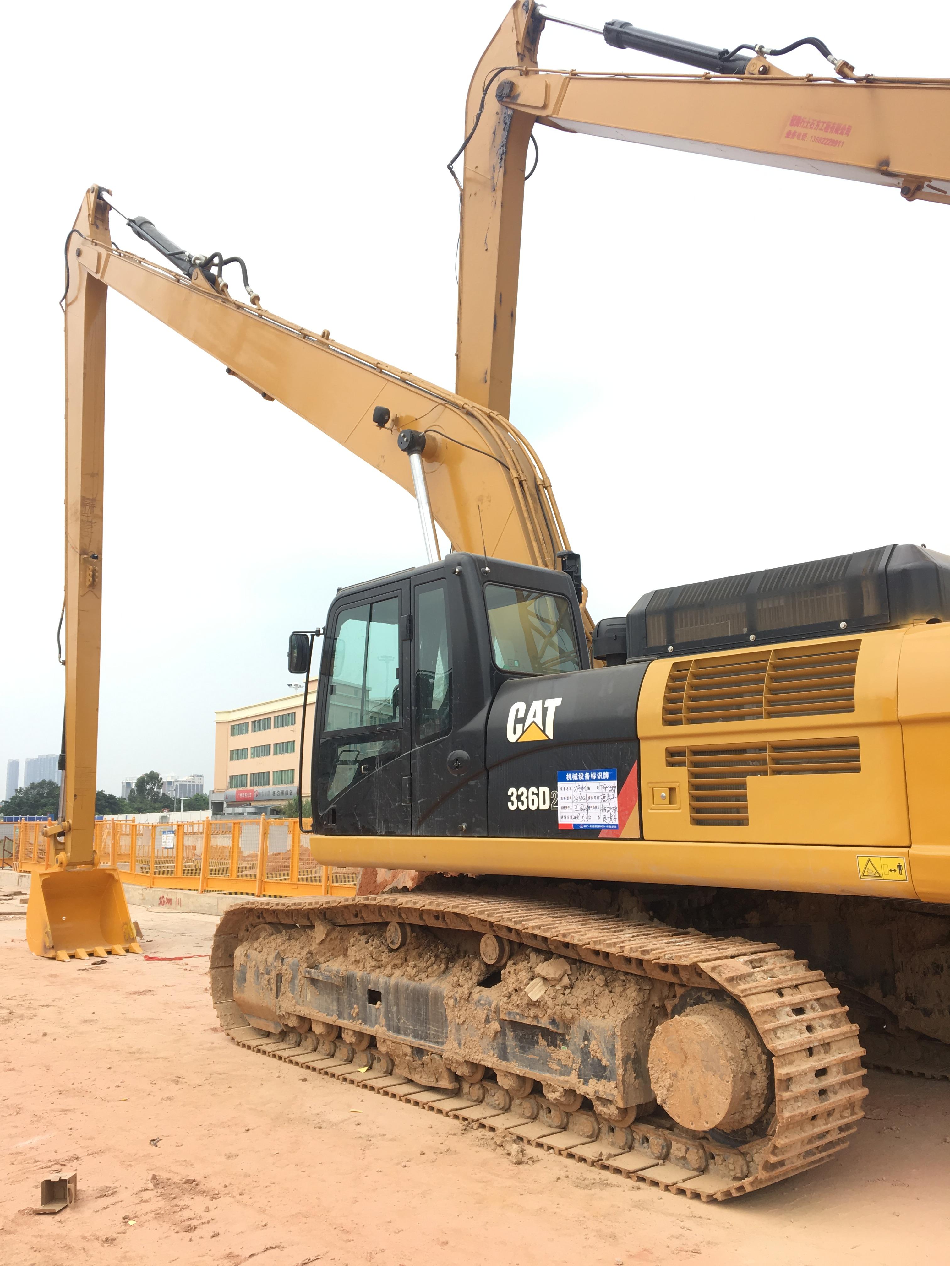 挖机加长臂改装 广州市冶通机械挖掘机改装加长臂