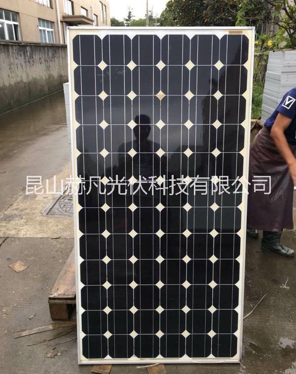 单晶180W拆卸组件太阳能光伏板组件电池板出售