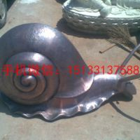 锻铜蜗牛雕塑,公园蜗牛雕塑