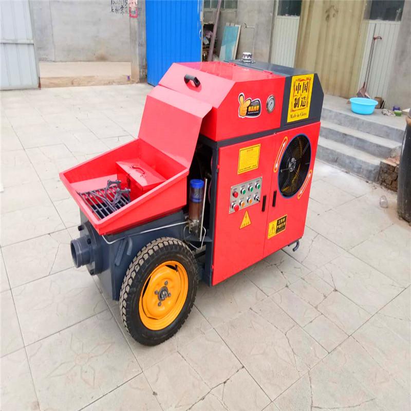 混凝土1012卧式7.5混凝土机  新款小型混凝土输送泵 浇筑机细石砂浆上料机