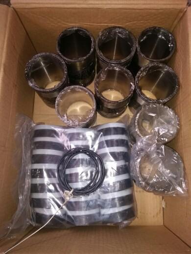 供应bw250泥浆泵配件bw150注浆泵配件缸套拉杆进排水阀座活塞皮碗钢球厂家批发