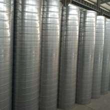 镀锌螺旋风管--镀锌圆风管-镀锌圆形风管--山东风管厂家批发
