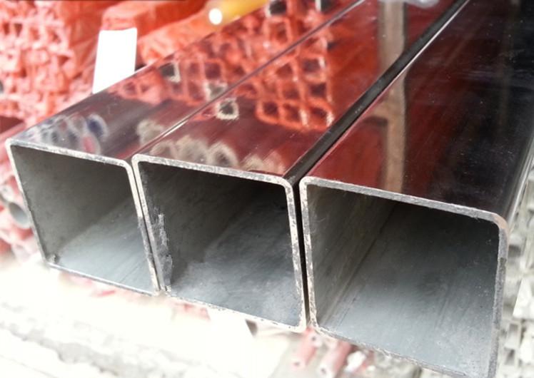 316 304不锈钢管 方管 外径32*32 28*28 规格齐全可加工可零切