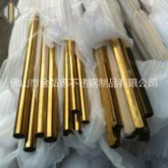 黄钛金不锈钢管图片