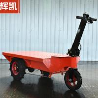 工地拉砖平板车 建筑工地电动车厂家  搬运车重型平板车 建筑工地通用手推车
