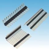 中尚精密电子1.27间距排针 双排双塑90度电子器件