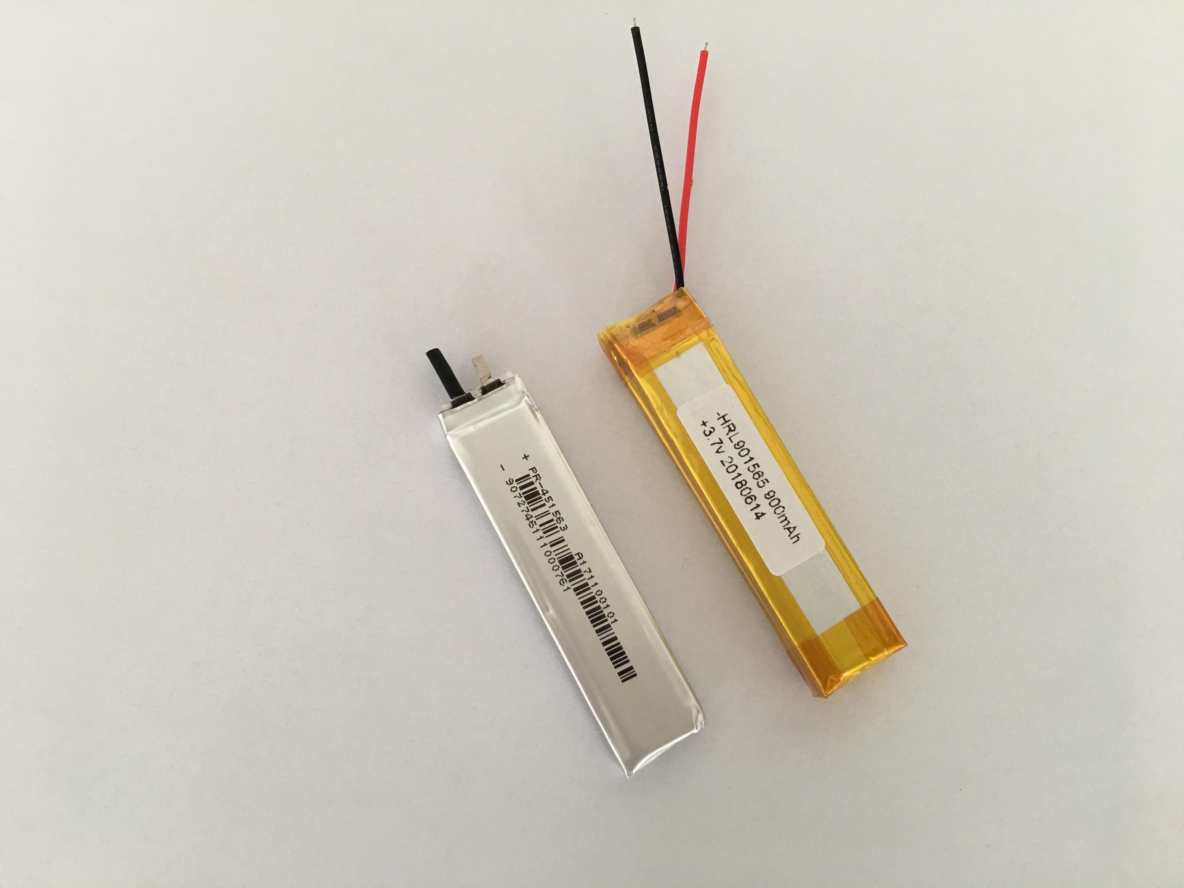 901565-900mah锂电池