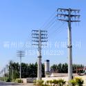 输电钢杆10kv电力钢杆 钢管杆图片