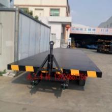 工业平板拖车 18吨双项牵引平板拖车批发