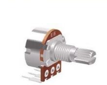 厂家生产148金属柄单联弯脚电位器 3脚148调光调速调音电位器  148金属柄单联弯脚电位器批发