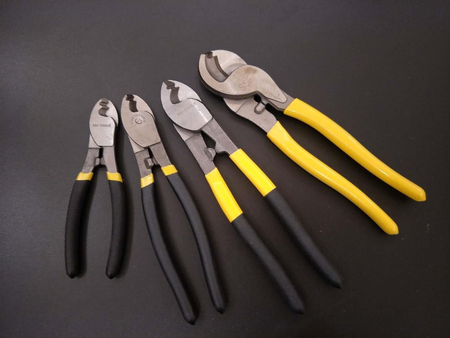 电缆剪钳断线钳剥线钳电缆剪6寸8寸10寸手动电缆剪省力