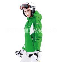 户外服装加工时尚女防风滑雪服专业防水透气透湿保暖外套生产定制图片