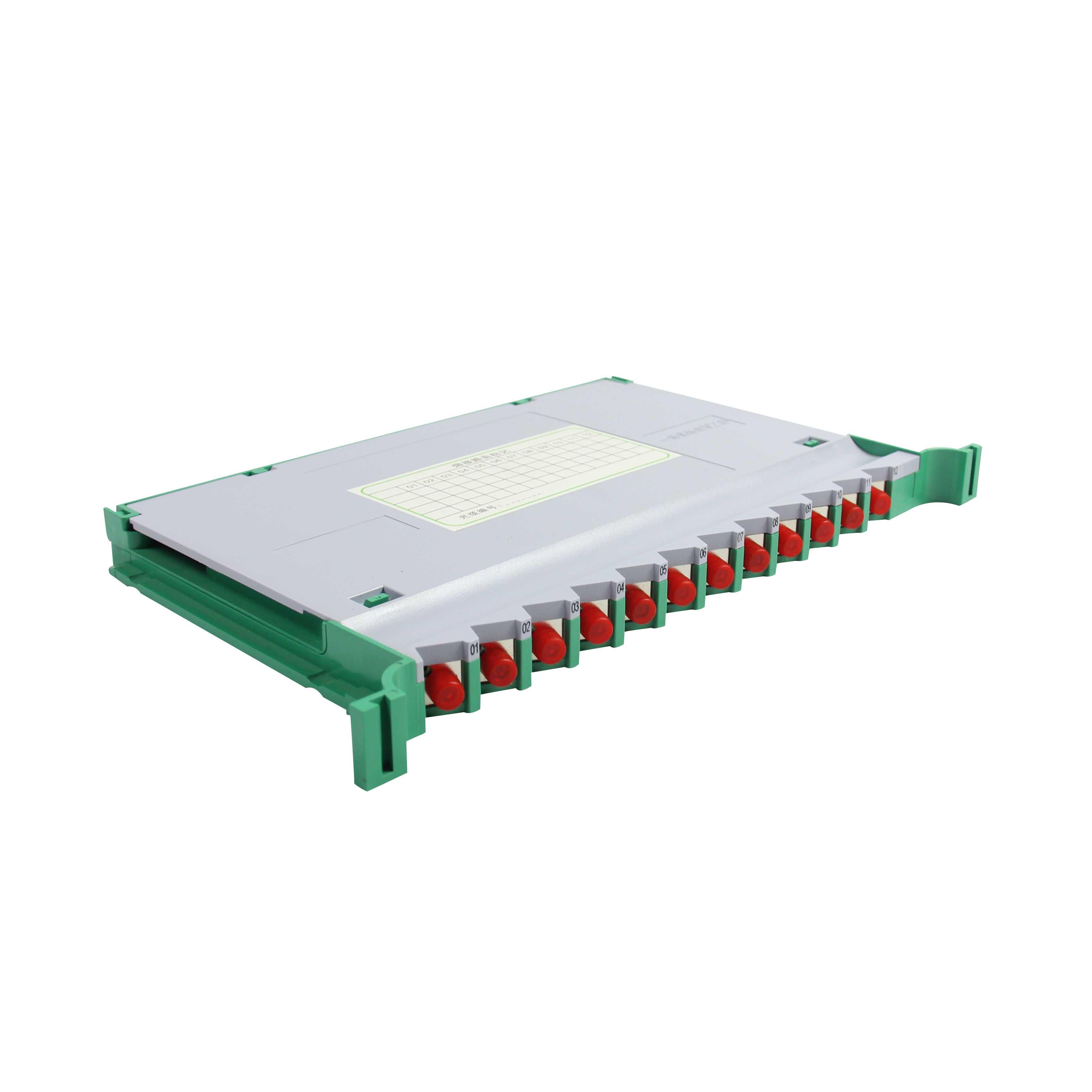翼德通信供应 新款双层12芯一体化托盘SC-FC通用型