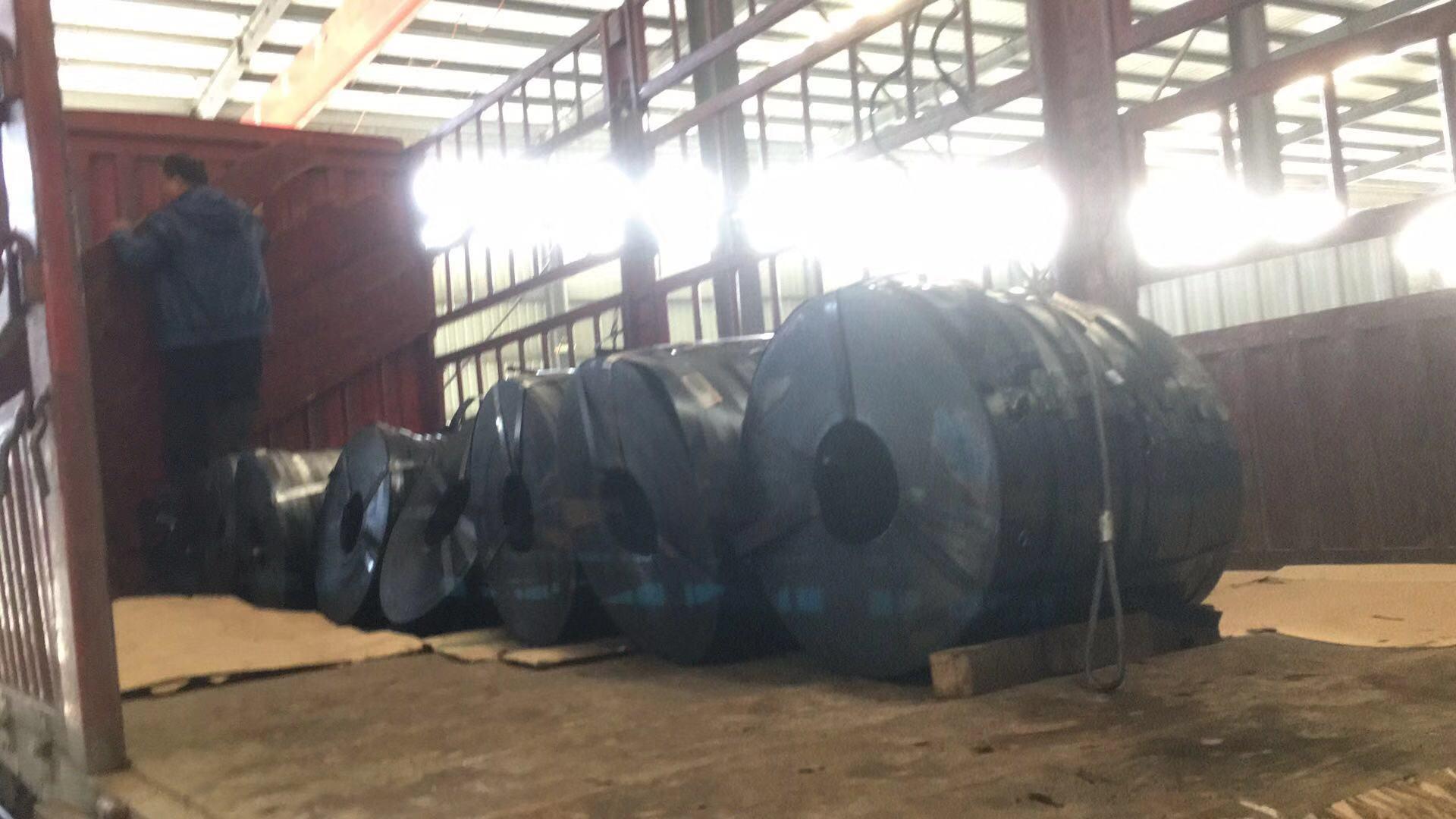 山东众泰 金属波纹管带钢现货0.25*36mm