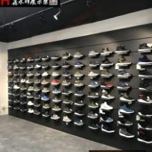 鞋店运动鞋架展示架样品室鞋架商场潮鞋架上墙壁挂式鞋托货架鞋架 运动鞋架