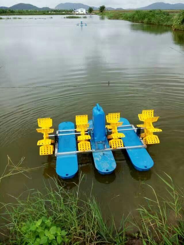 0.75KW1.5KW2.2KW鱼塘虾塘水车式增氧机    水车增氧机-03